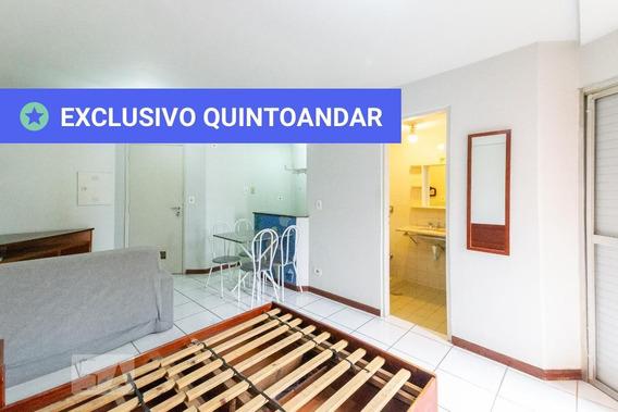 Studio No 2º Andar Mobiliado Com 1 Dormitório - Id: 892962592 - 262592