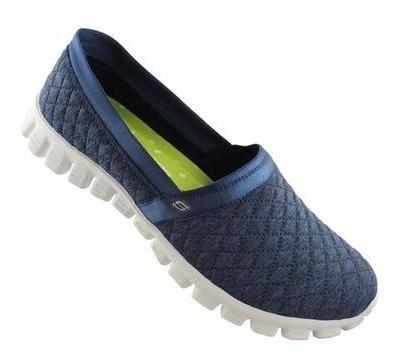 Tênis Feminino Skechers Ez Flex 2 Bankroll Caminhada Treino
