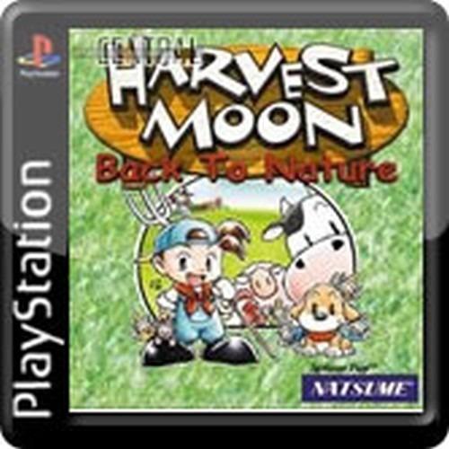 Harvest Moon Back To Nature Mídia Digital Ps3 Ps1 Classics