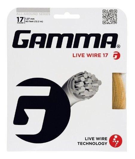 Cordaje Gamma Live Wire Xp 16g Tennis