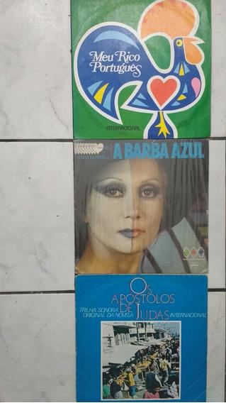 3 Lps Novela Tv Tupi Barba Azul Meu Rico Português