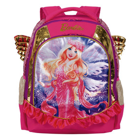 Mochila Infantil Escolar Menina Barbie Dreamtopia 64883 G