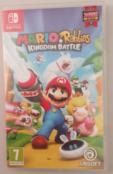 Mario + Rabbids Kingdom Battle Switch Completo Jogo Fisico
