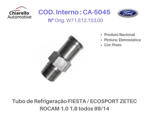 Tubo De Refrigeração Fiesta / Ecosport Zetec Rocam