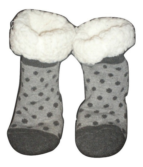 Calcetines Invernal Anti Derrapante Infantil Calcetines Aborregados Calcetas Térmica Niño(a) Precio Par