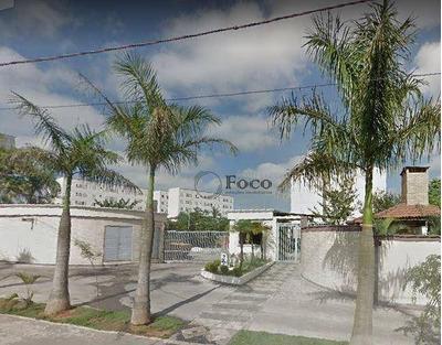 Apartamento Com 2 Dormitórios Para Alugar, 44 M² Por R$ 900/mês - Água Chata - Guarulhos/sp - Ap0817