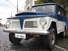 Ford Rural Willys 1970 4x4