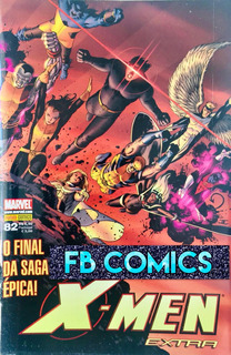 Hq X-men Extra #82 Marvel Panini Outubro-2008