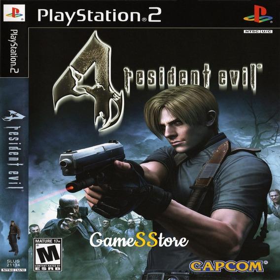 Resident Evil 4 Ps2 Desbloqueado Patch