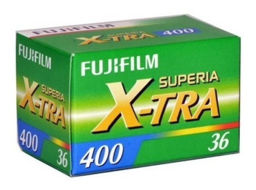 Filme Fuji Superia X-tra 400 35mm 36 Exp Venc 03/2021