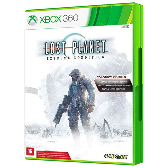 Lost Planet Extreme Cond.colonies Ed - Xbox 360 - Fr. Grátis