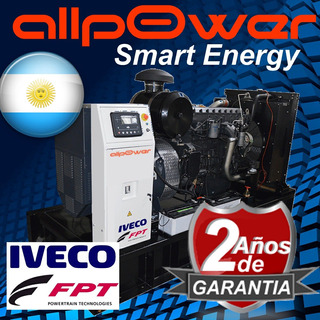 Grupo Electrogeno Diesel Fpt Iveco Fiat 165kva Super Garant