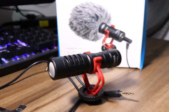 Microfone Boya - By Mm1