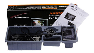 Sensor Reversa Mas Camara Pantalla Audiobahn Seguridad Total