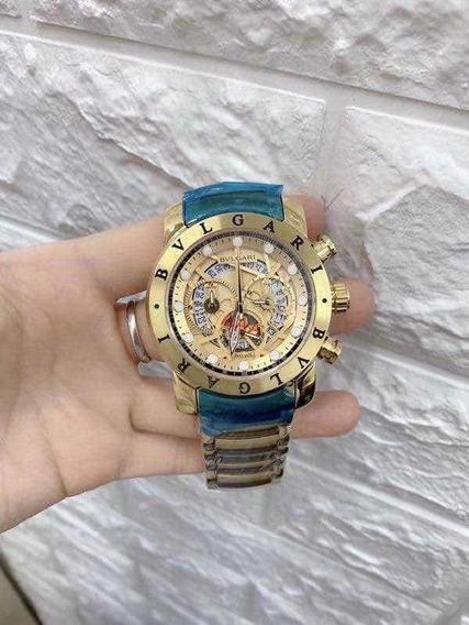 Relógio De Luxo Primeira Linha Aaa, Vedado Com Garantia