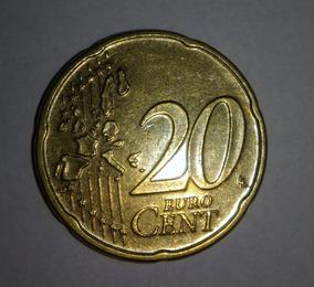 Moeda Euro De Luxemburgo - Colecionador
