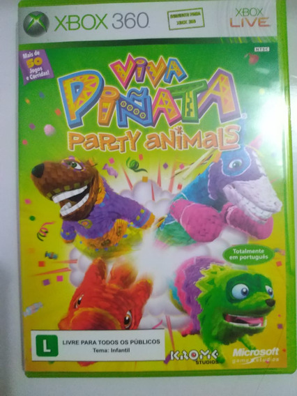 Viva Piñata Party Animals - Xbox 360 Midia Fisica
