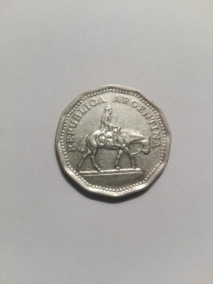 Moneda Argentina 10 Pesos Resero Año 1968