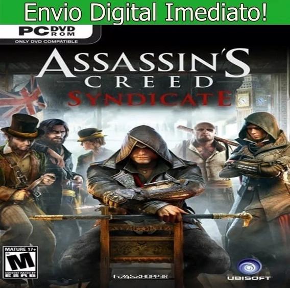 Assassins Creed Syndicate Pc Hd Envio Imediato!