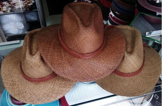 Sombrero Tipo Aguadeño En Iraca Café Estilo Indiana
