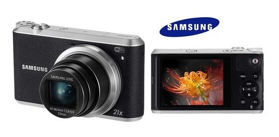 Câmera Samsung Smart Wb350f 16.3mp Lcd 3.0 Wifi Fullhd 21x