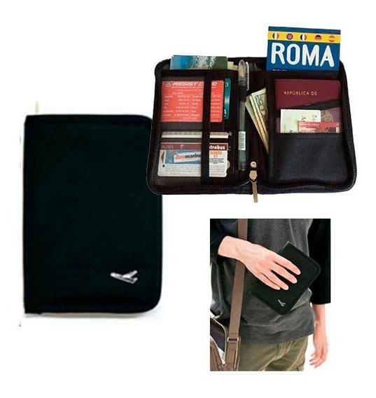 Estuche De Viaje - Documentos - Pasaportes - Dinero - Ticket