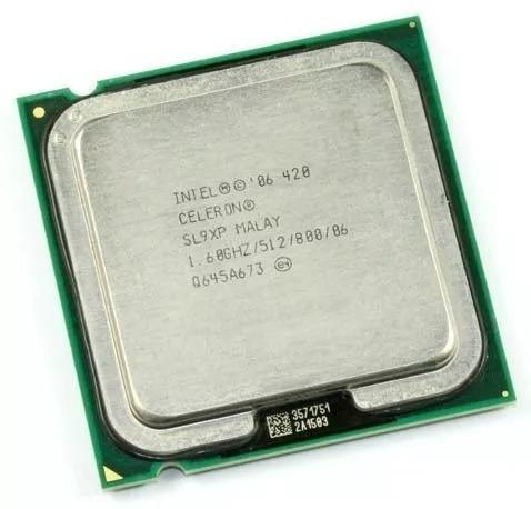 Processador Intel 420 Celeron 1.60ghz/512/800/06