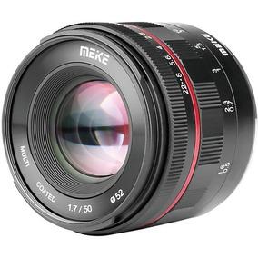 Lente Meike 50mm F/1.7 P/ Sony E-mount Fullframe Foco Manual