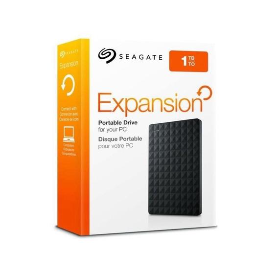 Hd Seagate Externo Portátil Expansion Usb 3.0 1tb Preto