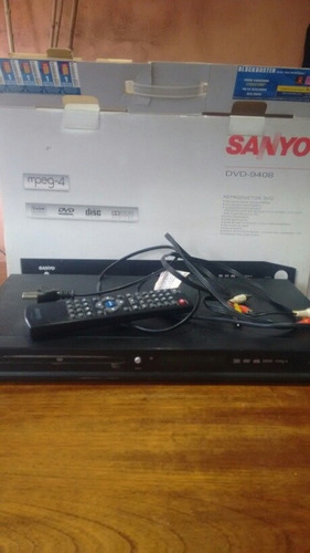Reproductor De Dvd Sanyo Impecable