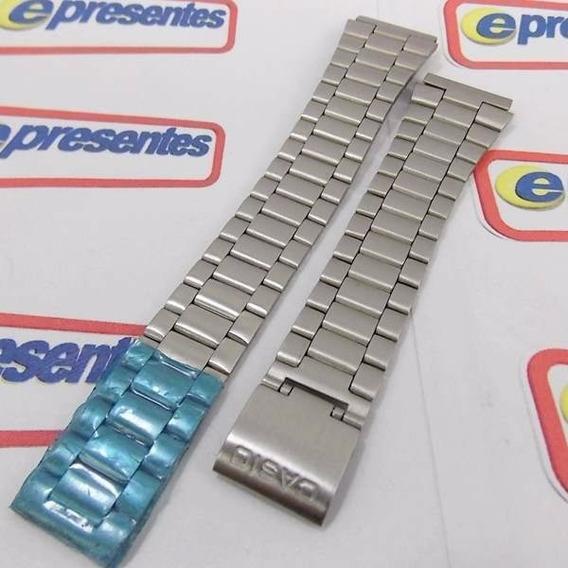 Pulseira Aço Original Casio A178 A158 A159 B640 - Sem Fecho
