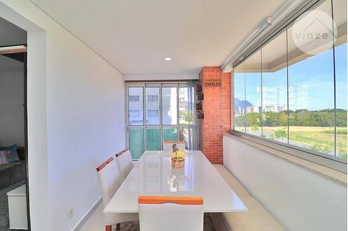 Imagem 1 de 30 de Lindo Apartamento De 3 Suítes E 101m² À Venda No Soho Residence, Barra Da Tijuca, Rio De Janeiro - Ap0046
