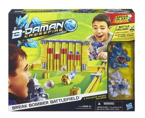 B-daman Crossfire Break Bomber Battlefield Set Juguetes