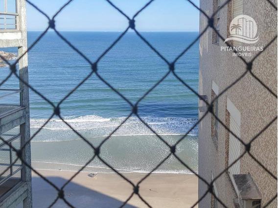 Pitangueiras - Frente Ao Mar - Vista Para O Mar. - Ap5070