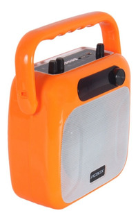 Parlante Retro Pcbox Smith Sp106 Bluetooth Bateria Radio Fm