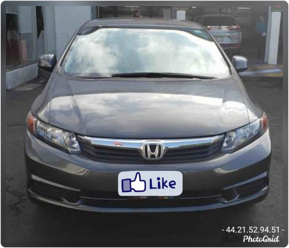 Honda Civic Dmt Ex Sedan At 2012