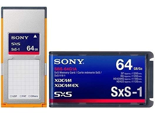 Cartão Sony Sxs-1 64gb - Promoção