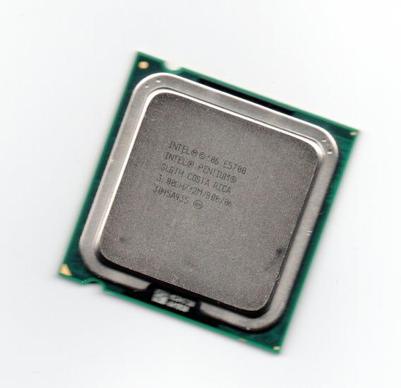 Intel Pentium E5700 2m Cache 3,0ghz 800 Mhz Fsb 775 Oem