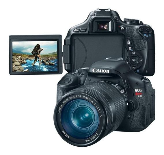 Câmera Canon T3i + Lente Top 18-200mm (imperdível) Act Troca