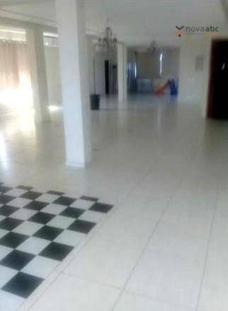 Salão Para Alugar, 163 M² Por R$ 4.200/mês - Vila Alto De Santo André - Santo André/sp - Sl0085