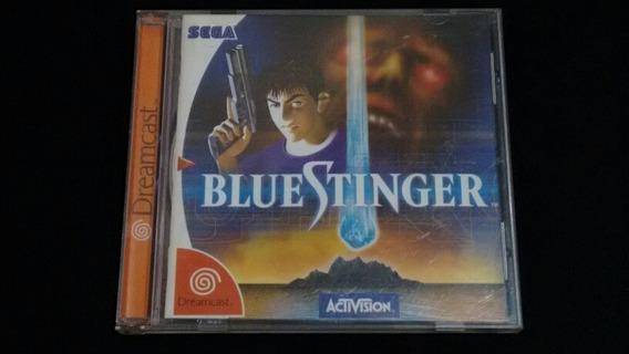 Blue Stinger Dreamcast Original Completo Tec Toy