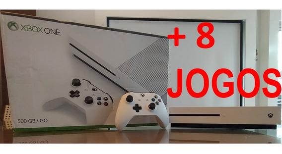 Xbox One S 500gb +8 Jogos