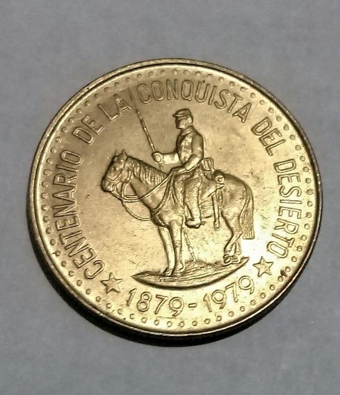 Monedas (2) Arg 1979 Cent Conquista Del Desierto 50 Y 100