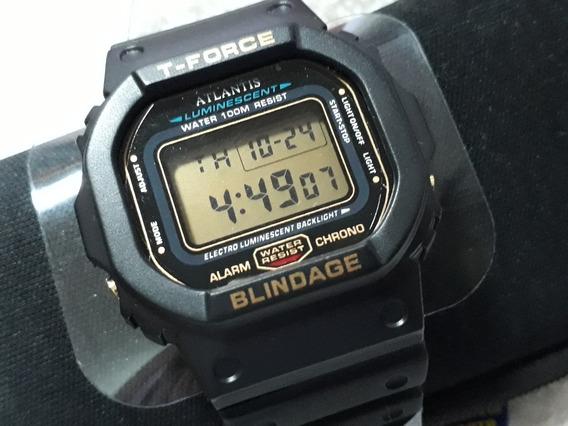 Relógio Atlantis G Shock - Semelhante Ao Casio !