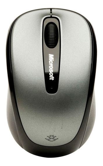 Mouse Wireless Mobile 3500 Microsoft Cinza Sem Fio Original