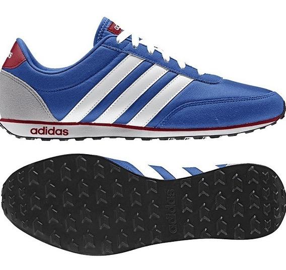 Tenis adidas V Racer Azul/blanco - Aw5051