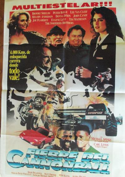 Poster Fiebre De Cannonball Frank Sinatra Burt Reinold 1989