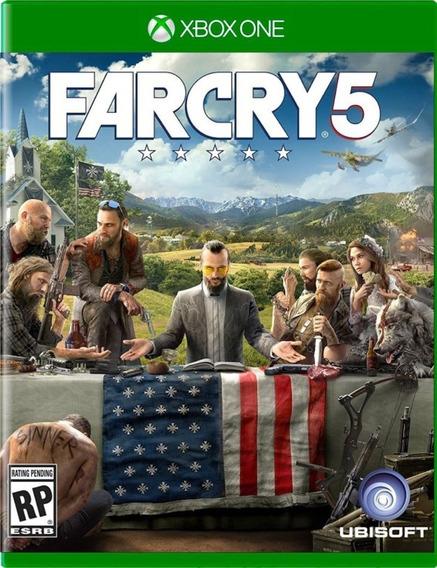 Far Cry 5 Xbox One Midia Física Português Original Promoção