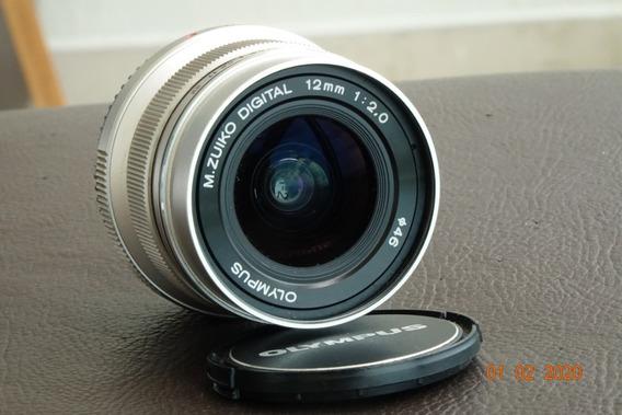 Lente Olympus M.zuiko Digital 12mm F/2 Lens Micro 4/3