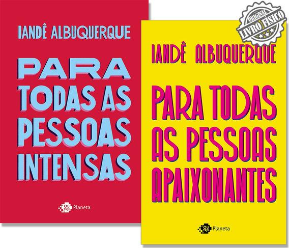 Kit Para Todas As Pessoas Intensas + Para Todas As Pessoas A